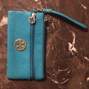 Tory Burch small leather clutch